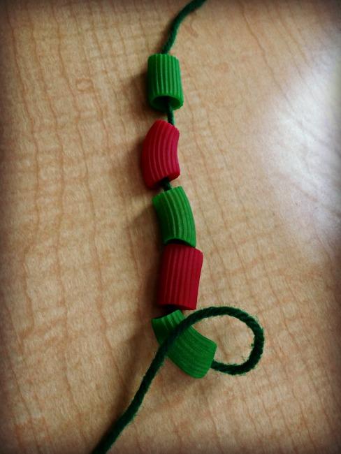 rainbow pasta arts  u0026 crafts