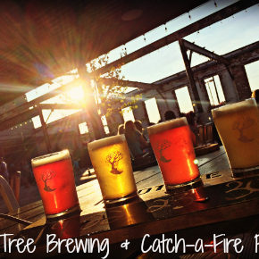 Madtree Brewing & Catch A Fire Pizza {2017}