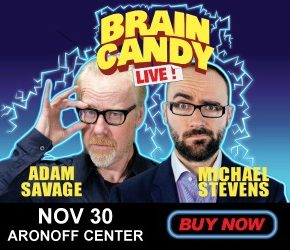 Brain Candy Live at the Aronoff Center